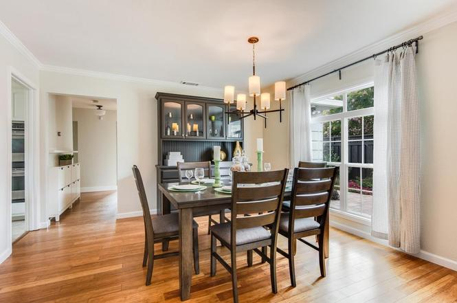 San Jose home staging 1901 Jonathan Ave